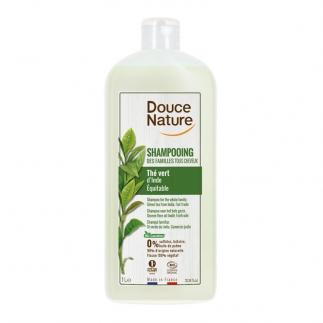 Shampoing des familles Thé vert Douce Nature
