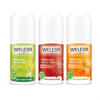 Déodorant roll-on bio Weleda