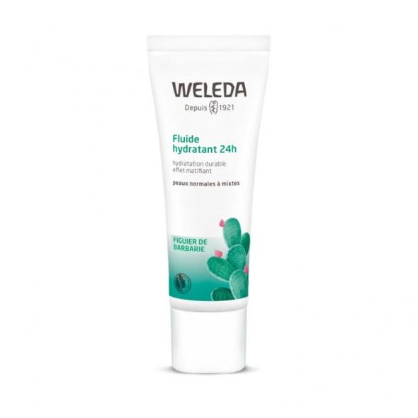 Fluide hydratant peau mixte Weleda