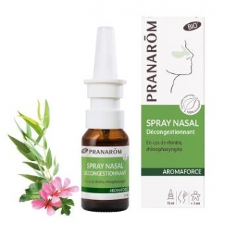 Spray Nasal décongestionnant bio - Aromaforce - 15 ml