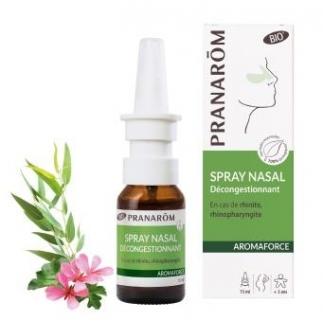 Spray Nasal décongestionnant bio - Aromaforce - 15 ml