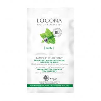 Masque peaux grasses bio Logona