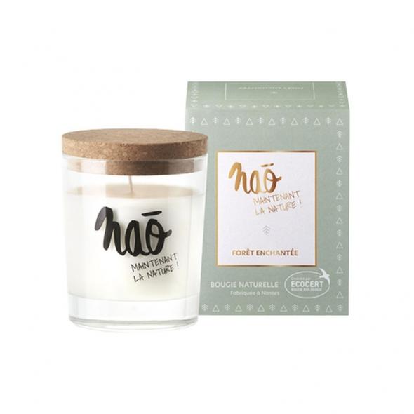 Bougie parfumée bio Nao