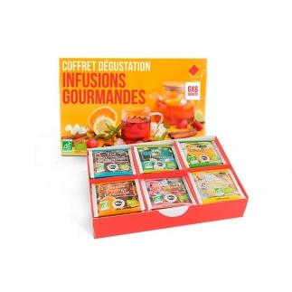 Coffret infusions bio gourmandes