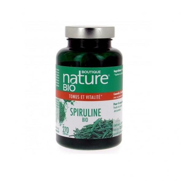 Spiruline bio Boutique Nature