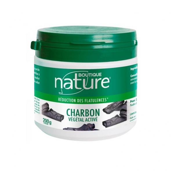 Charbon végétal Activé en poudre Boutique Nature