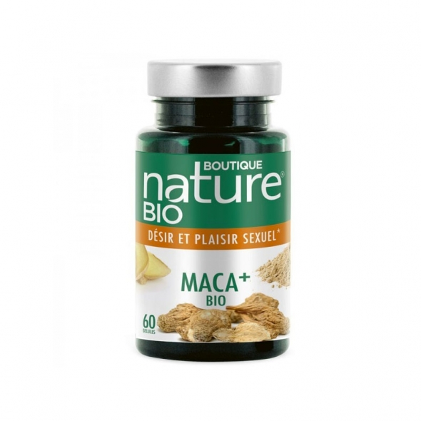 Maca+ bio plaisir sexuel Boutique Nature