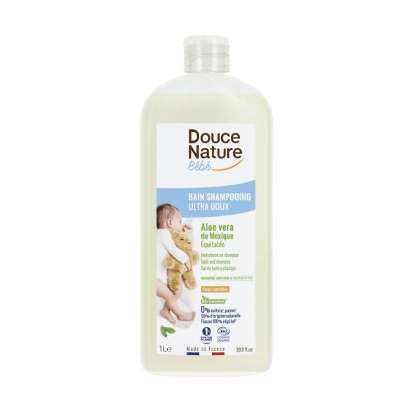 Bain shampoing hypoallergénique bébé Douce Nature
