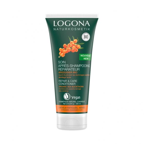 Soin après-shampooing réparateur argousier bio Logona
