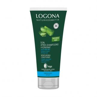 Après-shampooing hydratant bio aloe vera Logona