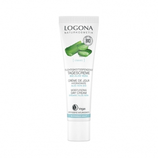 Crème de jour hydratante bio Aloe vera Logona