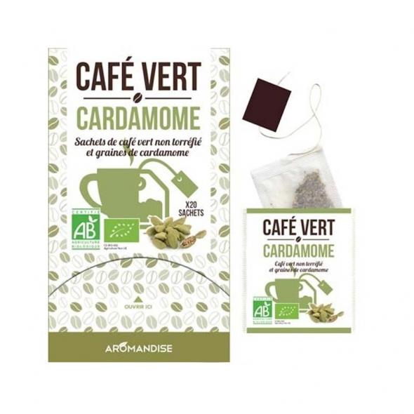 Café vert cardamone aromandise