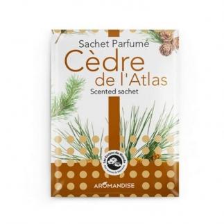 Sachet parfumé pour le linge Cèdre de l'Atlas Encens du monde Aromandise