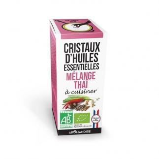 Cristaux d'huiles essentielles - Mélange thaï - Aromandise