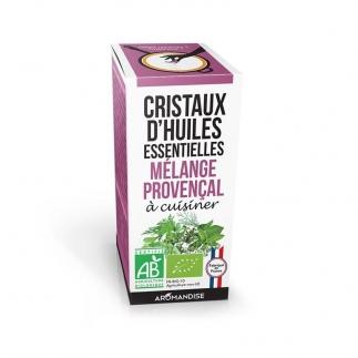 Cristaux d'huiles essentielles - Mélange provençal - Aromandise