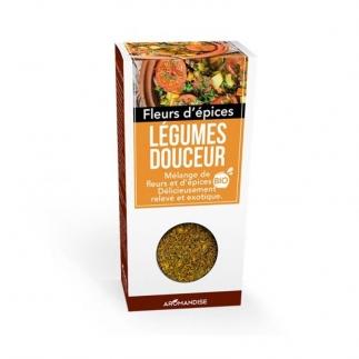 Fleurs d'épices bio - Légumes Douceur - 45g - Aromandise