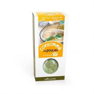 Consommé de poulet à l'hysope bio - Soupe bio - 170g - Hildegarde de Bingen