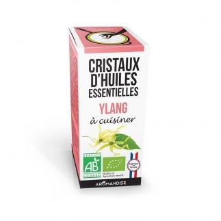 Cristaux d'huiles essentielles - Ylang