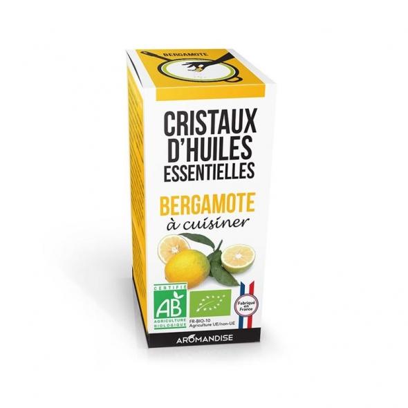 Cristaux d'huiles essentielles - Bergamote - 10g