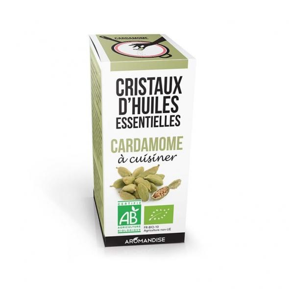 Cristaux d'huiles essentielles - Cardamome - 10g