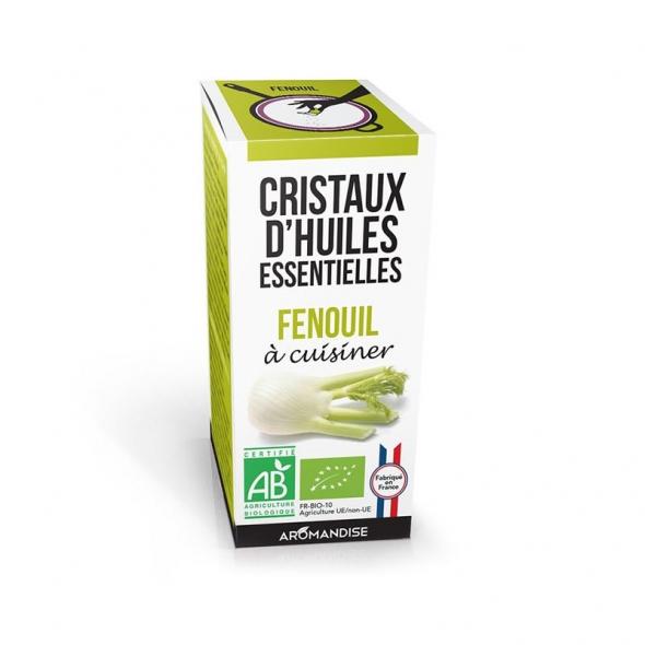 Cristaux d'huiles essentielles - Fenouil - 10g