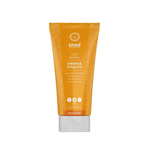 Shampooing ayurvédique Orange vitalité Khadi