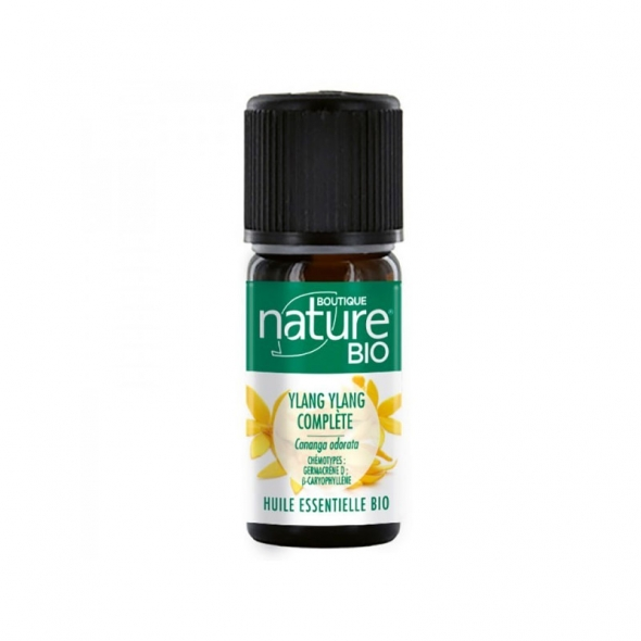 Huile essentielle Ylang ylang bio Boutique Nature