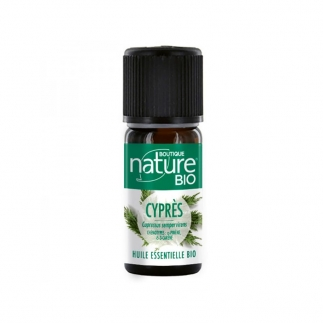 Huile essentielle Cypres toujours vert bio boutique nature