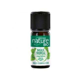 huile essentielle basilic tropical bio boutique nature