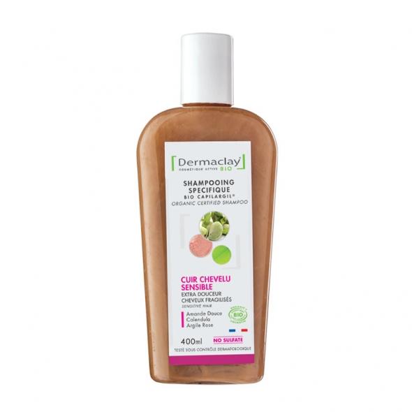 Shampooing bio cuir chevelu sensible Dermaclay