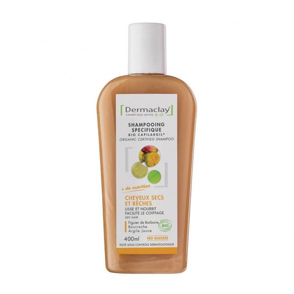 Shampooing cheveux secs et rêches Dermaclay