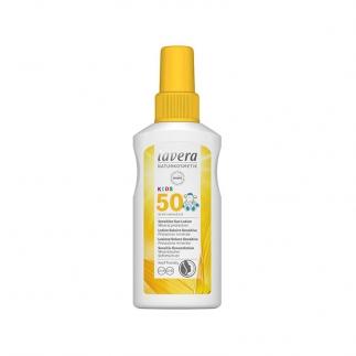Crème solaire bébé et enfant bio SPF50 Lavera