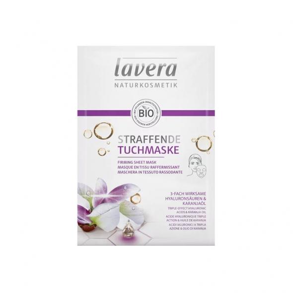 Masque tissu raffermissant bio Lavera