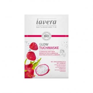 Masque tissu illuminateur bio Lavera