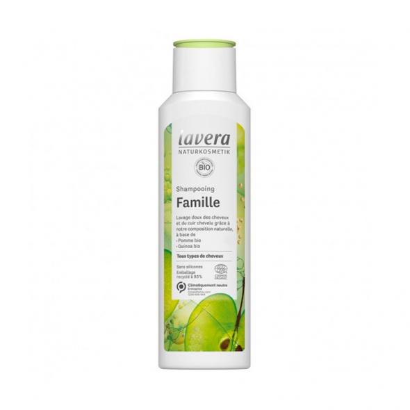 Shampoing pour toute la famille Lavera