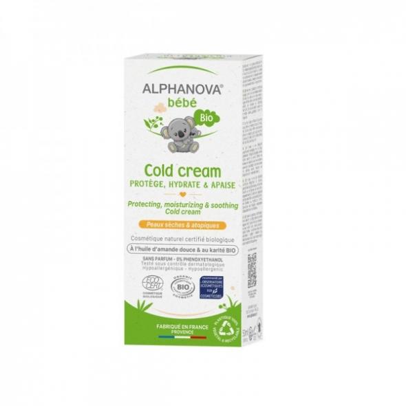 Cold Cream bio - Bébé - 50 ml