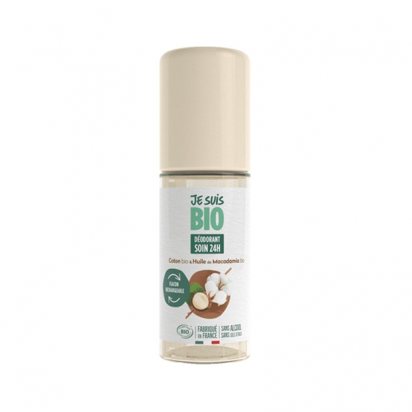 Déodorant roll-on rechargeable Je suis Bio