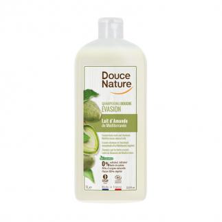 Shampoing douche bio lait d'amande Douce Nature