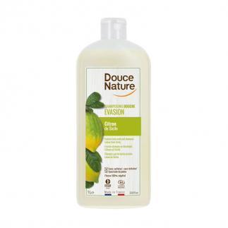 Shampoing douche bio Citron Sicile Douce Nature