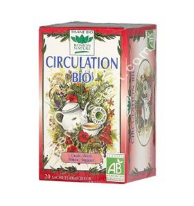 Tisane circulation bio - 20 sachets