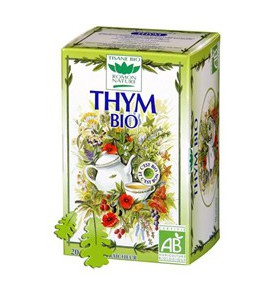 Tisane thym bio - Respiration - 20 sachets