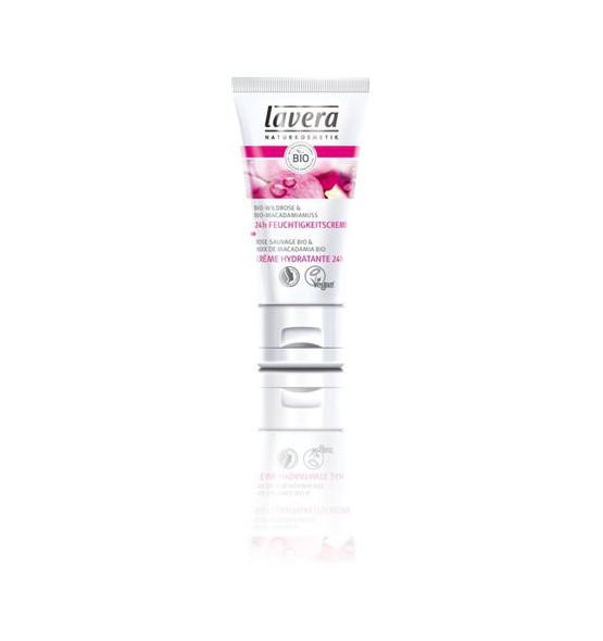 Crème hydratante 24h - Rose Sauvage bio - 50 ml