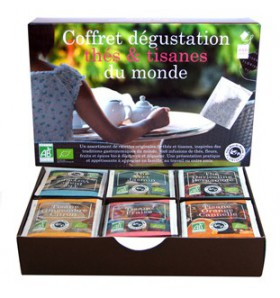 Coffret Dégustation Thés bio & Tisanes bio du Monde