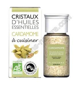 Cristaux d'huiles essentielles - Cardamome