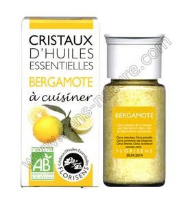 Cristaux d'huiles essentielles - Bergamote