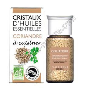Cristaux d'huiles essentielles - Coriandre