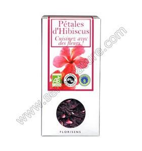 Fleurs bio à croquer - Pétales d'Hibiscus