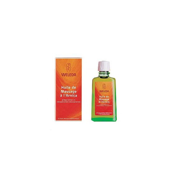 weleda huile de massage l 39 arnica 100 ml. Black Bedroom Furniture Sets. Home Design Ideas