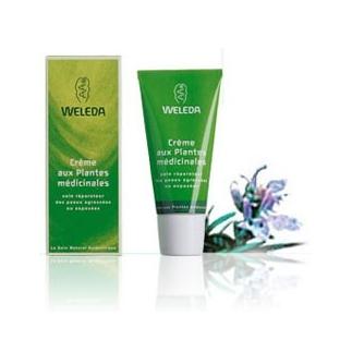 Crème aux plantes médicinales - visage mains corps -30 ml