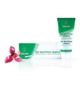Gel dentifrice végétal bio- 75 ml